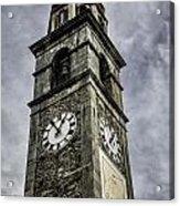 Ascona Clock Tower Acrylic Print