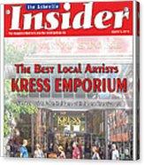 Asheville Insider Magazine Acrylic Print