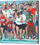 Ashland Half Marathon Acrylic Print