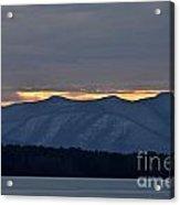 Ashokan Reservoir 24 Acrylic Print