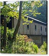 Ashtabula Collection - Olin's Covered Bridge 7k01977 Acrylic Print