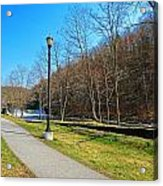 Ashuelot River In Hinsdale Acrylic Print