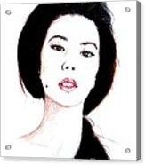 Asian Beauty II Acrylic Print