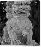 Asian Dog Acrylic Print