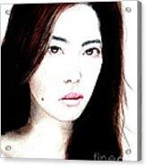 Asian Model II Acrylic Print