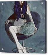 Ask Alice Acrylic Print