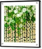 Aspen Colorado Abstract Square 2 Acrylic Print
