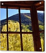 Aspen Window 2 Acrylic Print