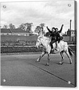 Aspiring Cowboys In Dublin 1961 Acrylic Print