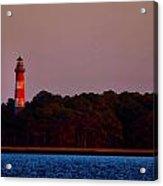 Assateague Lighthouse At Sunset Acrylic Print