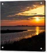 Assateague Sunrise Vertical Acrylic Print