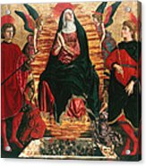 Assumption Of Mary With Sts Minias And Julian Acrylic Print