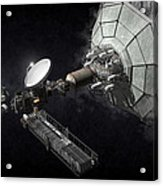 Asteroid Mining And Processing Acrylic Print