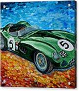 Aston Martin Dbr1 Acrylic Print