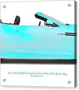 Aston Martin Dbs Fort Sumter Sky Acrylic Print