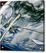 Aston Martin Hood Emblem 4 Acrylic Print