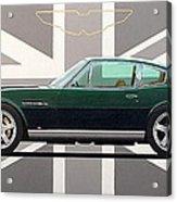 Aston Martin V8 Vantage Acrylic Print