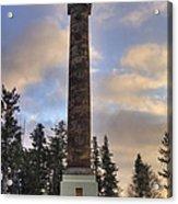 Astoria Column Acrylic Print