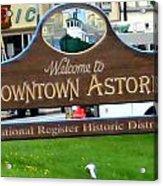 Astoria Oregon Acrylic Print