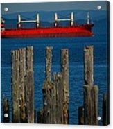 Astoria Tanker Acrylic Print