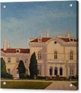 Astors Beechwood Mansion Acrylic Print