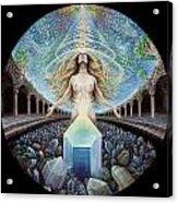 Astral Emergence Acrylic Print by Morgan Mandala Manley