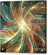 Astral Flower Acrylic Print
