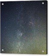 Astro Photography Milky Way Acrylic Print