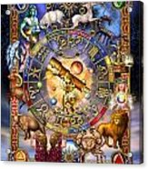 Astrology Acrylic Print by Ciro Marchetti