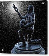 Astronaut Michael P. Anderson Tribute Acrylic Print