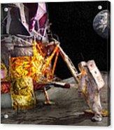 Astronaut - One Small Step Acrylic Print