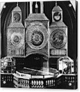 Astronomical Clock, C1750 Acrylic Print