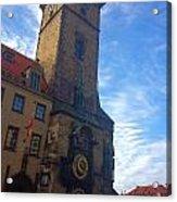 Astronomical Clock Of Prague Acrylic Print