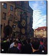 Astronomocal Clock Of Prague II Acrylic Print