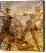 At A Place Called Gettysburg Ver Two Acrylic Print