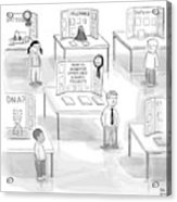 At A Science Fair Acrylic Print by Paul Noth
