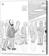 At An Airport Acrylic Print