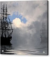 At Anchor Acrylic Print