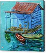 At Boat House Acrylic Print