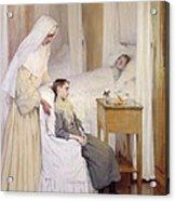 At Notre-dame Du Perpetuel Bon Secours Hospital Acrylic Print