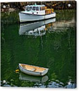 At Rest In The Cove Acrylic Print