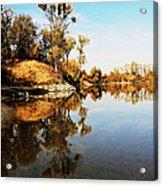 At Rivers Bend Acrylic Print