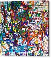 at the age of three years Avraham Avinu recognized his Creator Acrylic Print