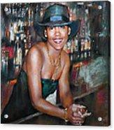 At The Bar Acrylic Print