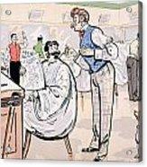 At The Barber And Reading Le Jockey Acrylic Print