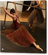 At The Barre Acrylic Print