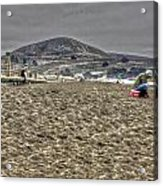At The Beach At Pacifica Acrylic Print