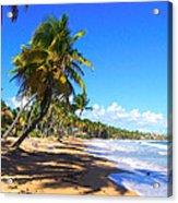 At The Beach Palmas Del Mar Acrylic Print