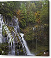 At The Bottom Of Panther Creek Falls Acrylic Print