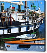 At The Docks Acrylic Print
